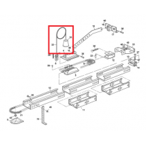 Moovo TS4 Corde de Débrayage
