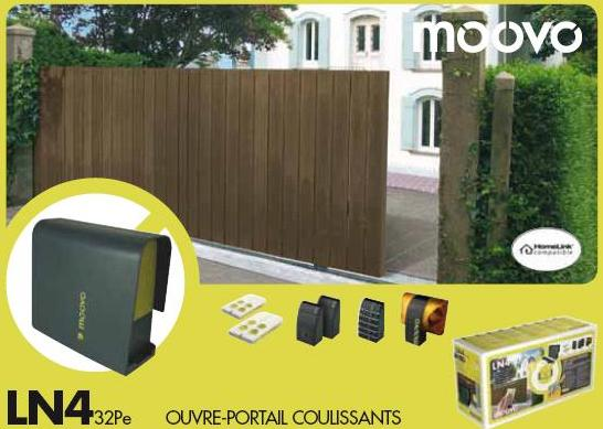 moovo ln432pe motorisation de portail coulissant. Black Bedroom Furniture Sets. Home Design Ideas
