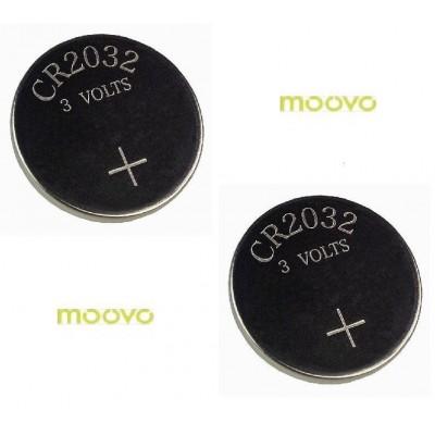 Lot de 2 Piles de remplacement Moovo MT4