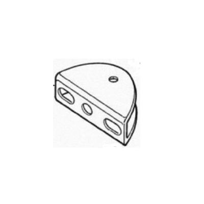MOOVO support fixation portail XA432
